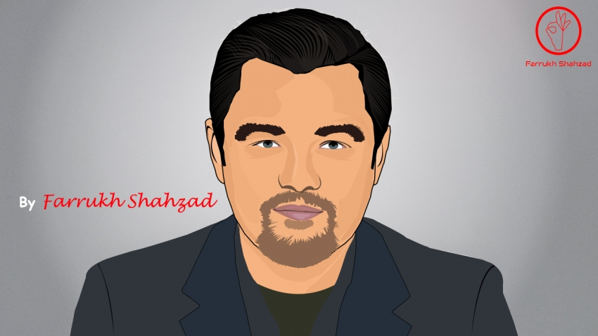 Leonardo DiCaprio by FarrukhShahzad